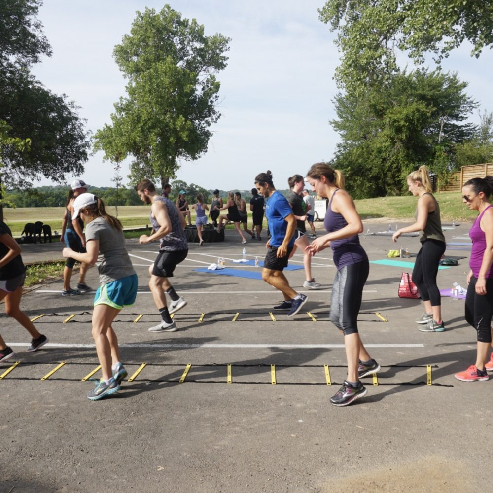 August's River District Fitness Event