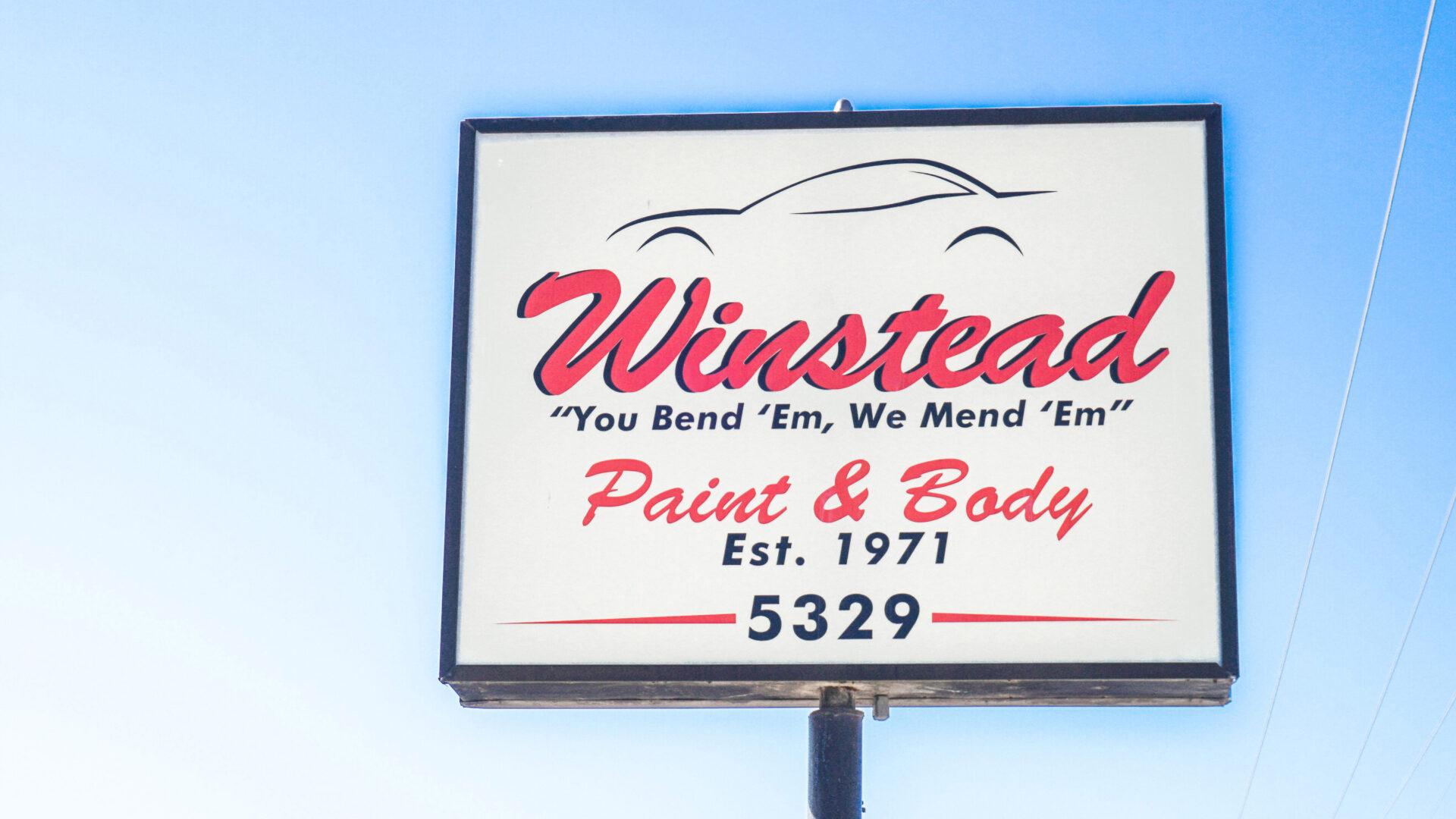 Insider Tour: Winstead Paint & Body